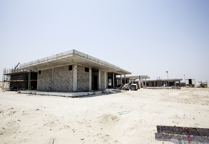 Ajman-based Aims Group has carried out construction work for phase one's golf villas.