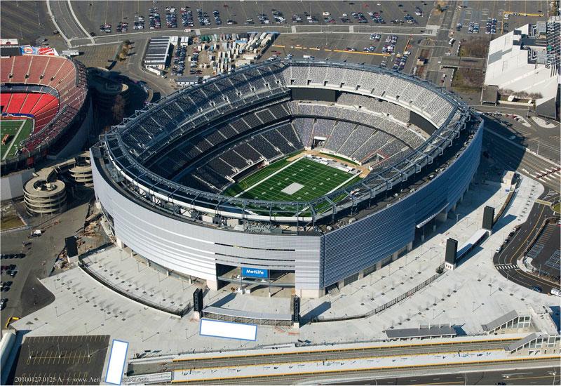 Skanska's Metlife stadium, New Jersey