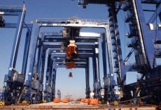 ZPMC cranes which have recently been installed at Sohar Port