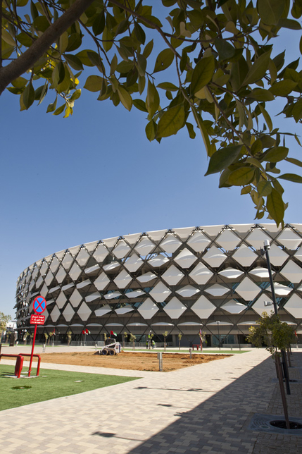 In pictures: Hazza Bin Zayed Stadium to open