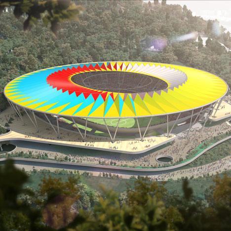 NEWS, Design, Designs, Estadio Nacional de Fútbol de Venezuela, Rogers Stirk Harbour + Partners, Stadium