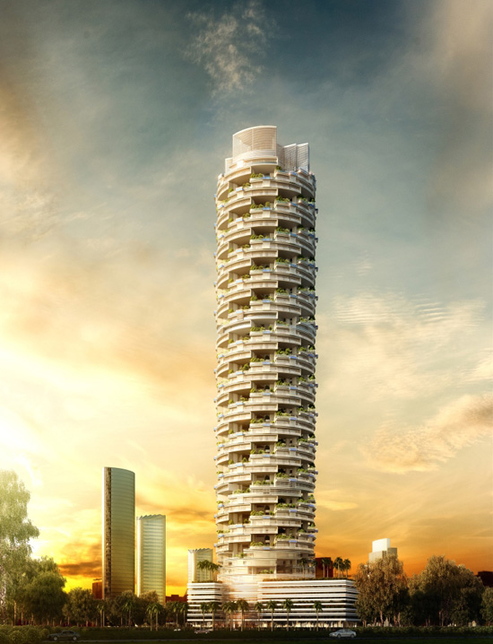 NEWS, Projects, Atkins, China State Construction Engineering Corporation, Jumeirah Village Circle, SKAI Holdings, Suites in the SKAI, TOPO Design Studio