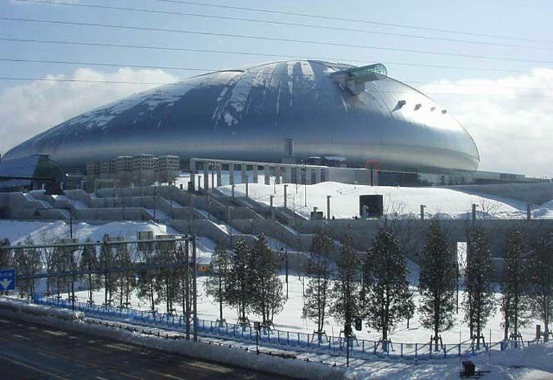 Sapporo Dome, built by Taisei
