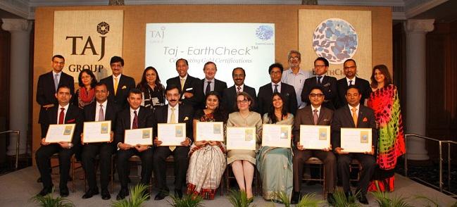 NEWS, Business, EarthCheck, Taj hotels