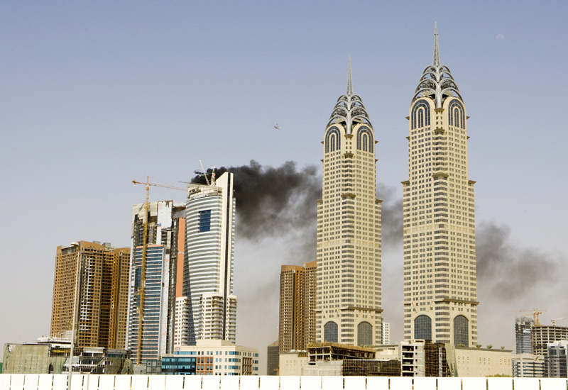 The GCC has seen a spate of fires in high-rise buildings