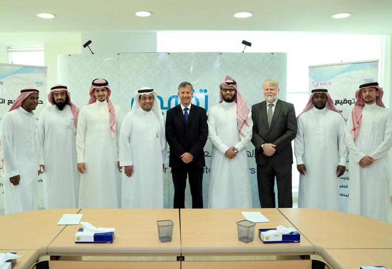NEWS, Business, Real estate sector, RICS, Royal Institute of Chartered Surveyors, Saudi Arabia, Standards, Taqeem