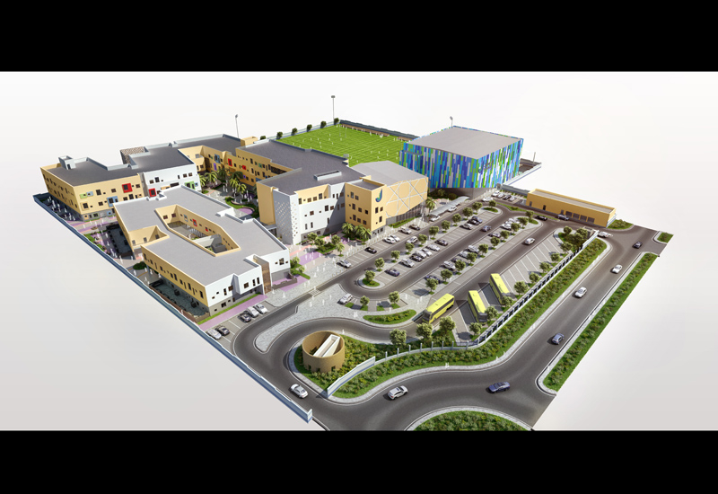 The New Jebel Ali School will occupy a 32,000-sqm plot within the Akoya by Damac development.