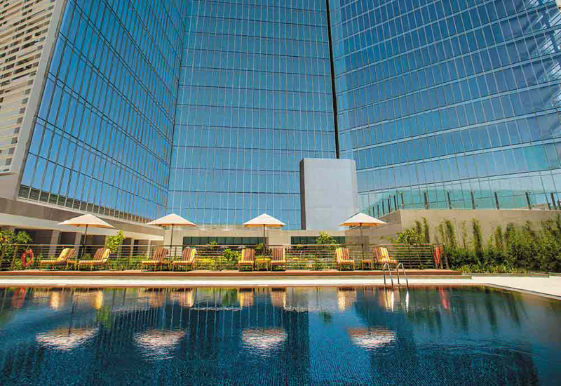The Oberoi Group opened a luxury hotel in the year 2014 in Dubai.