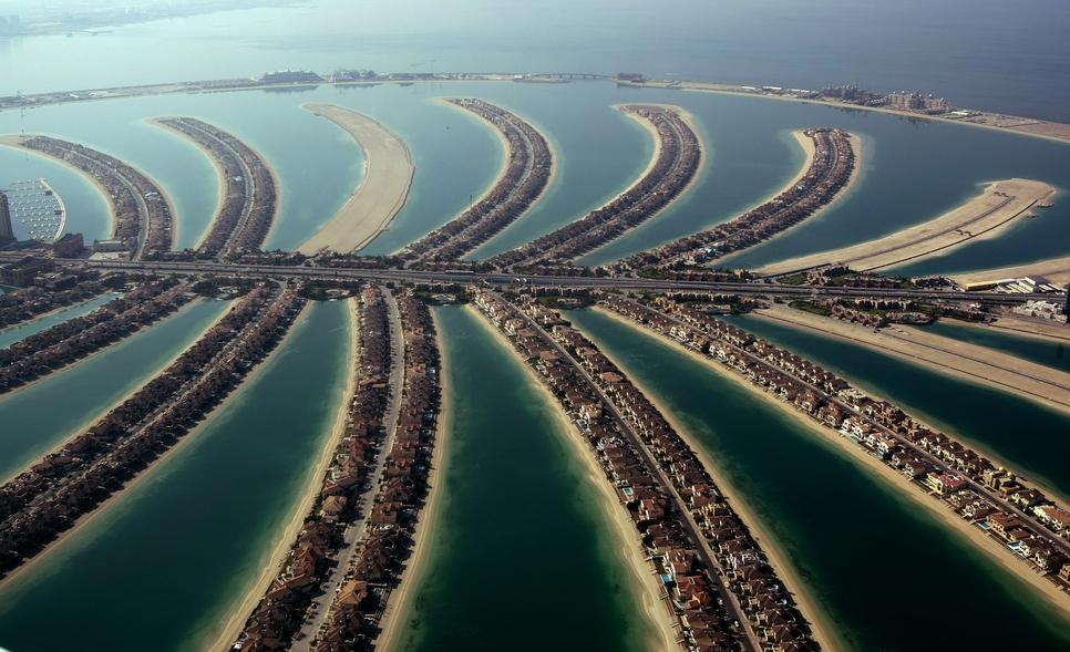 Dubai's Palm Jumeirah island