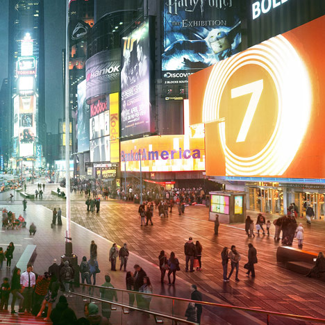 NEWS, Projects, Architects, New York, Pedestrianise, Plazas, Times Square