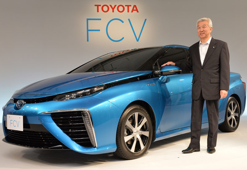 Toyota's Mirai is the only fuel-cell vehicle currently in production.