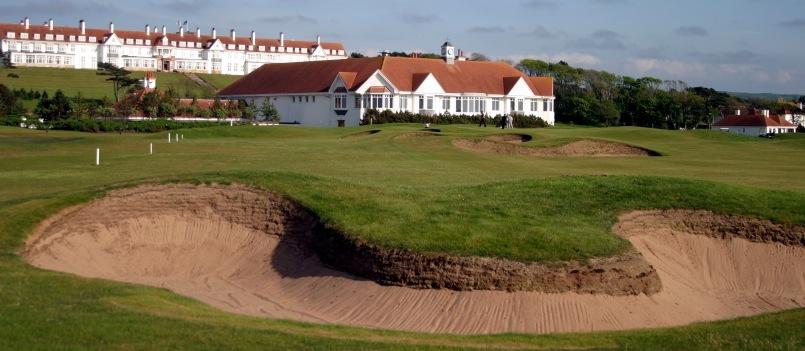 Turnberry, the iconic Scottish golf resort.