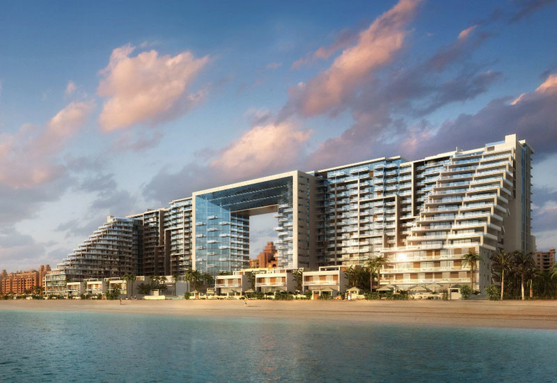 The $1bm Viceroy resort set to be built by CSCEC at Dubai's Palm Jumeirah. The contractor is a co-investor in the project alongside developer Skai Hol