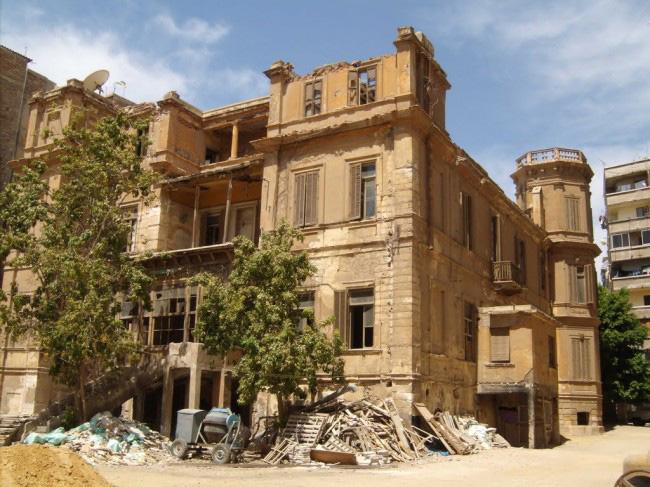 NEWS, Projects, Architecture, British author, Demolition, Egypt, High-rise development, Nobel prize for literature, Social media, The Alexandria Quartet, Villa Ambron