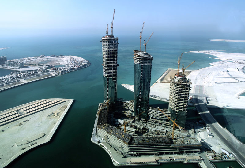 Villamar, Manama: This image was taken in 2010. Bahrain's government wants the project finished.