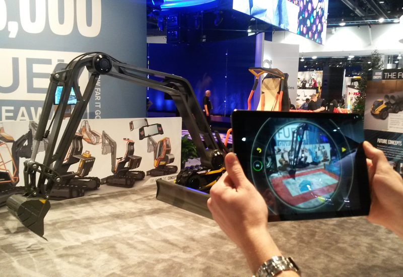 The Volvo GaiaX is a concept excavator that has been designed for the year 2030.