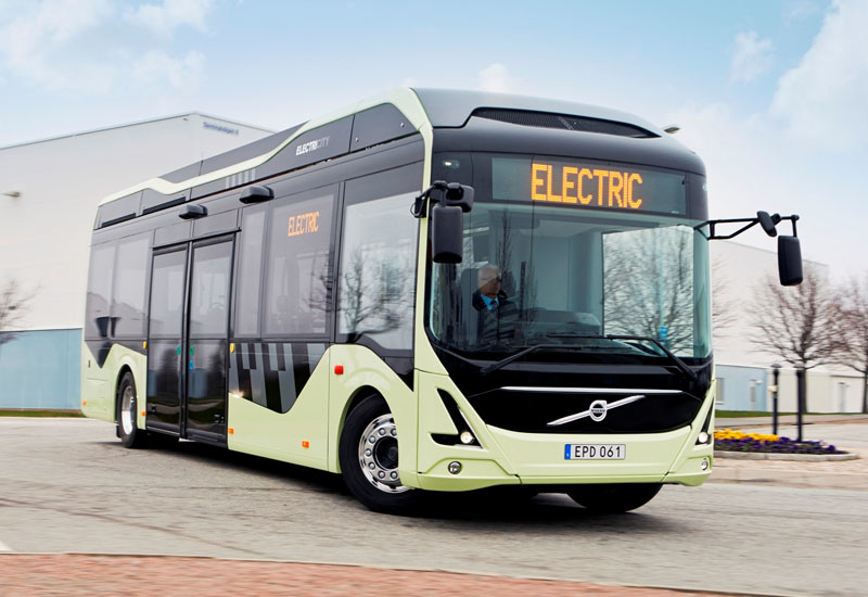 The energy consumption of the electric buses is estimated to be 80% lower than that of corresponding diesel buses.