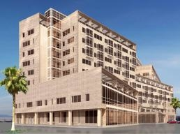 A rendering of the Westin Doha