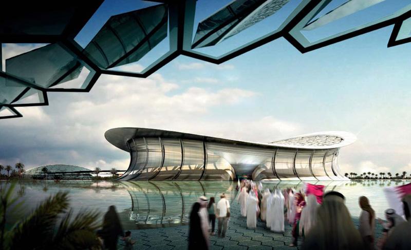 Stadiums.
