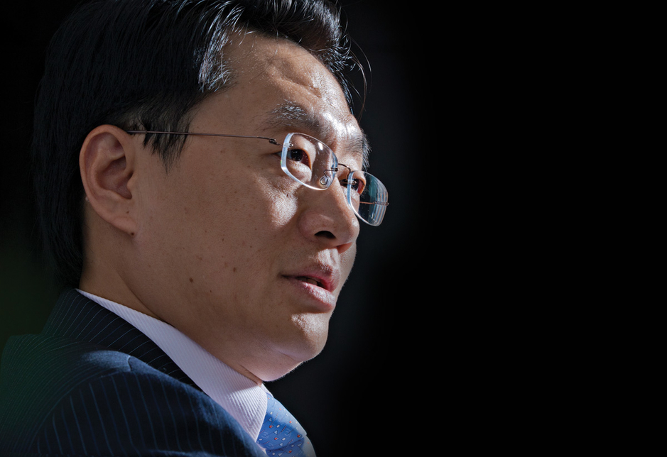 China State Construction Engineering Corp's Middle East CEO Yu Tao.