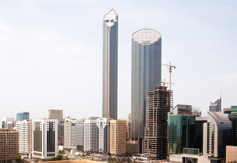 Too much office space in Abu Dhabi is being blamed for a 10% fall in yields compared with last year.