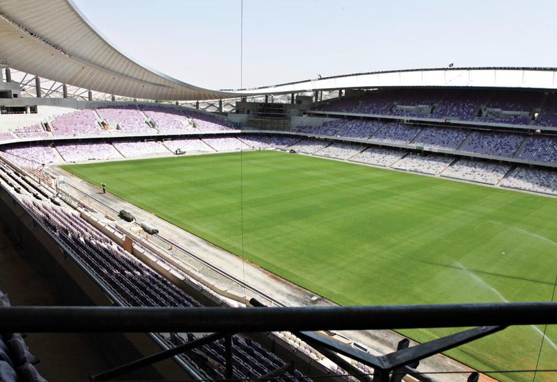 Hazza Bin Zayed Stadium is an oasis of football in Al Ain.