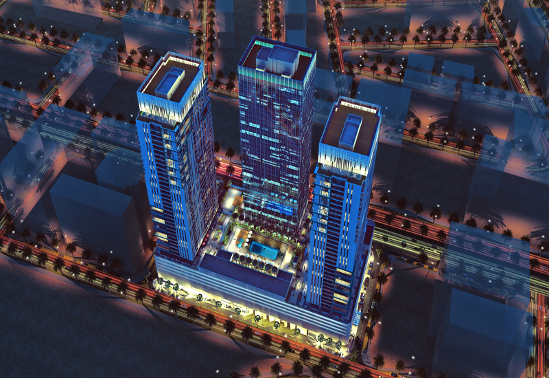 The $190m (AED700m) project is 70% complete covering 250,838 sqm.