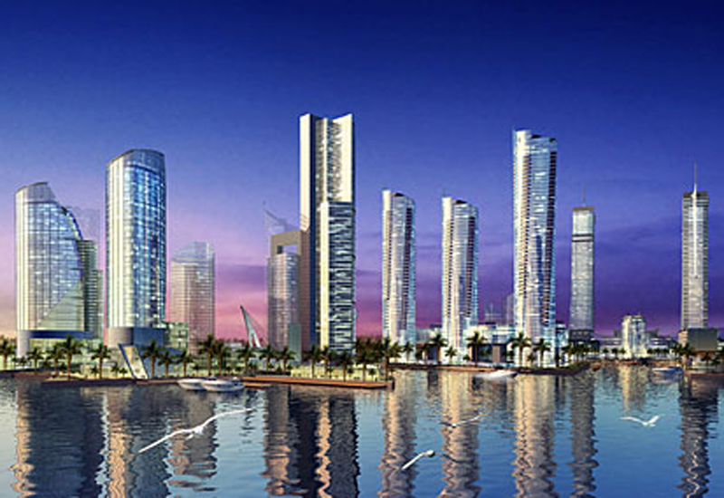 The Harbour Row project is situated within Bahrain Financial Harbour.