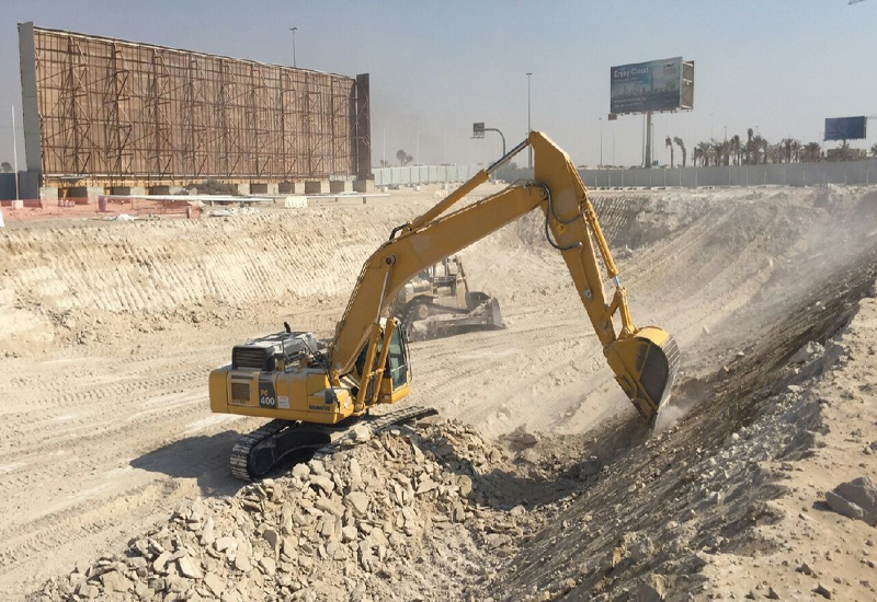The project is estimated to be completed by the fourth quarter of 2018.