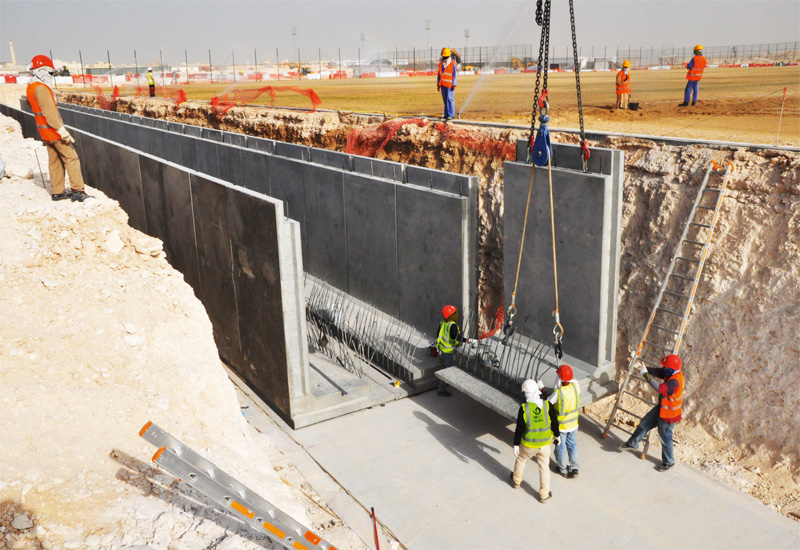 ANALYSIS, Projects, Building materials, Concrete, Qatar