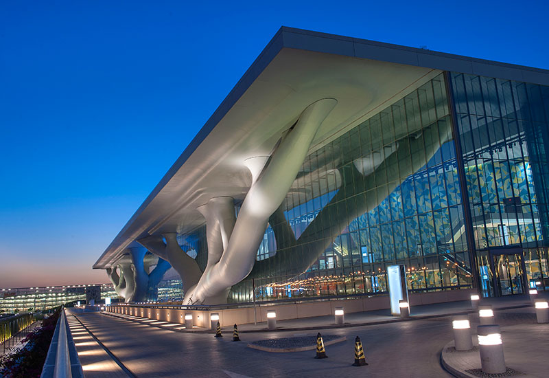 The new Convention Centre in Doha relies extensively on post tensioning. The dimensions of the structural components could be reduced, along with the