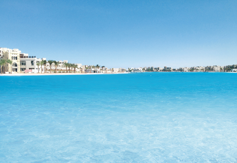 Crystal Lagoons has a total of four active projects in Egypt, including the 12.2 ha CityStars Sharm El Sheikh lagoon.