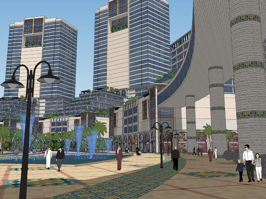 Dar Al Arkan's Qasr mall