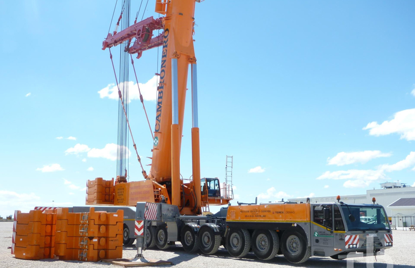 The Terax Demag ATC was bought by a local rental company.