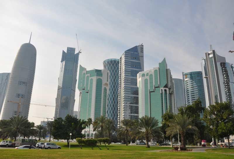 The trauma hospital will be built in Doha.