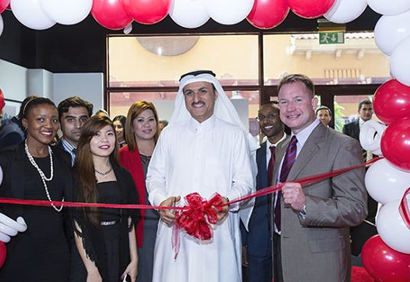 The ribbon cutting ceremony was attended by DTZ Qatar's partners, the department heads of the RE firm, representatives from the global head office of Cushman and Wakefield.