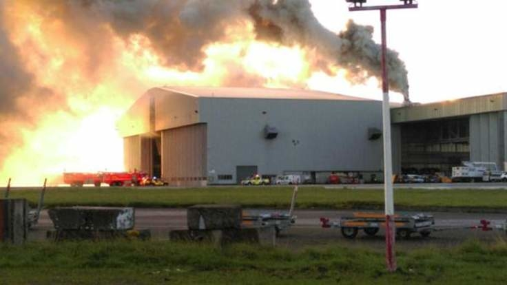 Fire breaks out at Dublin Airport