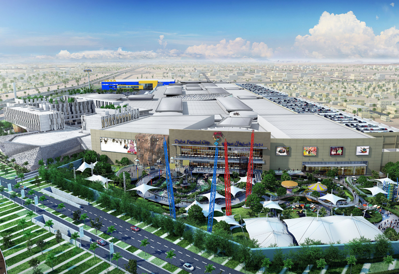Doha Festival City's retail mall is due to open in September 2016.
