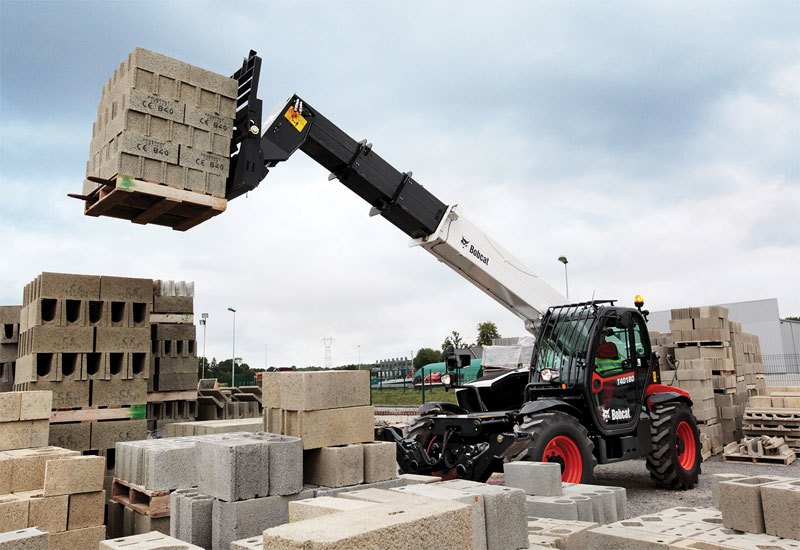 Bobcat's range-topping T40180 telehandler received its global launch at INTERMAT Middle East 2014 in Abu Dhabi, UAE.