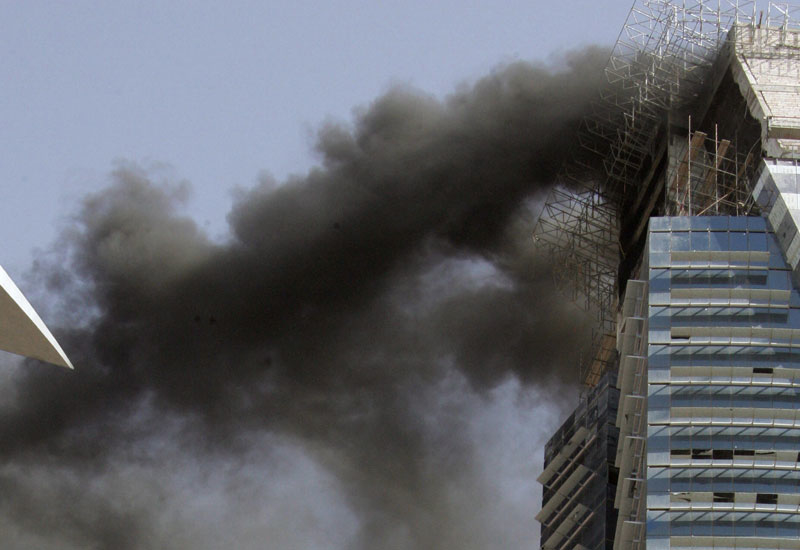 Updated UAE fire codes should be finalised by March 2016 [Representational image].