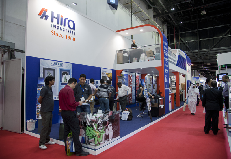 Hira's stand at 2013's Big 5 show.