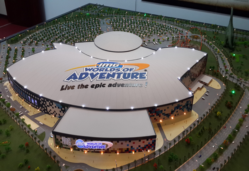 The park will have the capacity to welcome more than 20,000 guests a day and will be the world's largest indoor theme park.
