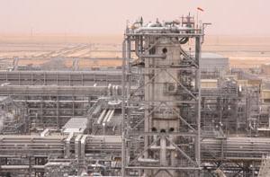 Khurais oil field.