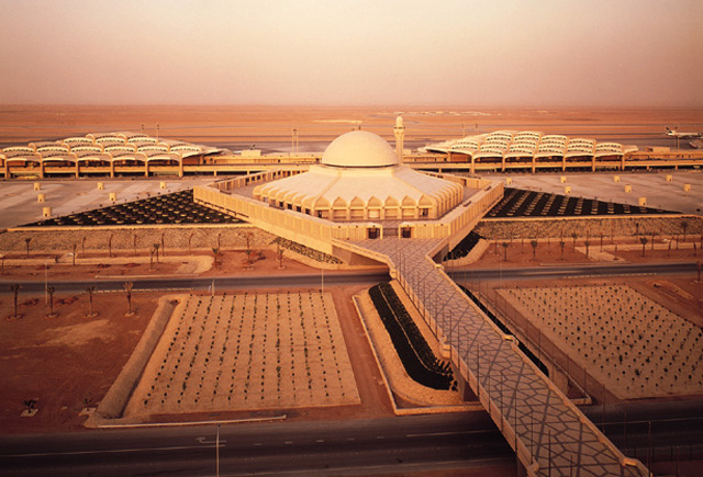 King Khaled International Airport, Riyadh (KSA) | Image Courtesy: www.hok.com