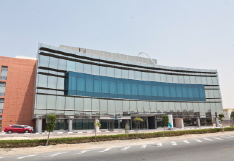 New in the neighborhood: The NMC Hospital in Dubai Investments Park.