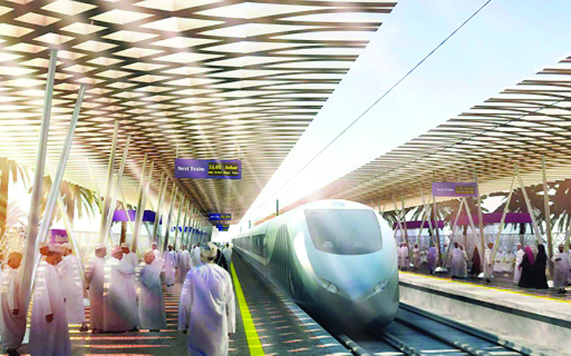 The first phase of Oman Rail spans 207km. [Image: Oman Daily Observer]