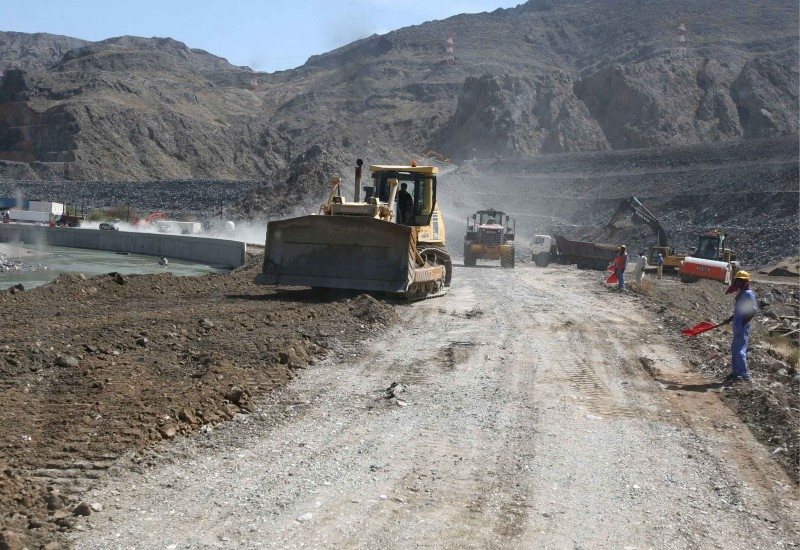 The project will see a road built between Izki and Nizwa in Oman.