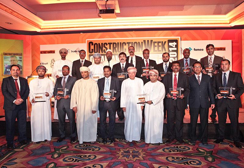 ANALYSIS, Business, Construction Week Oman 2015 Awards