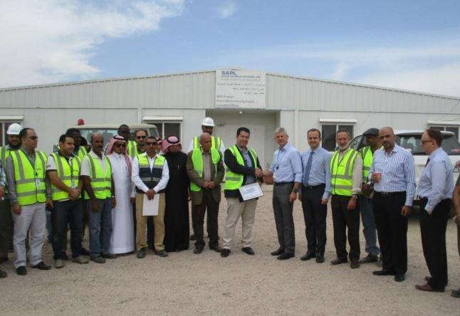 Parsons reported two million safe man hours at its Khubais Mushait project. [Image: LinkedIn/Parsons Corporation]