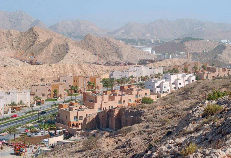 The Ras Al Hamra development as seen from Qurum Heights.